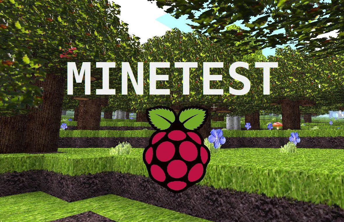 Minetest Server на Raspberry Pi