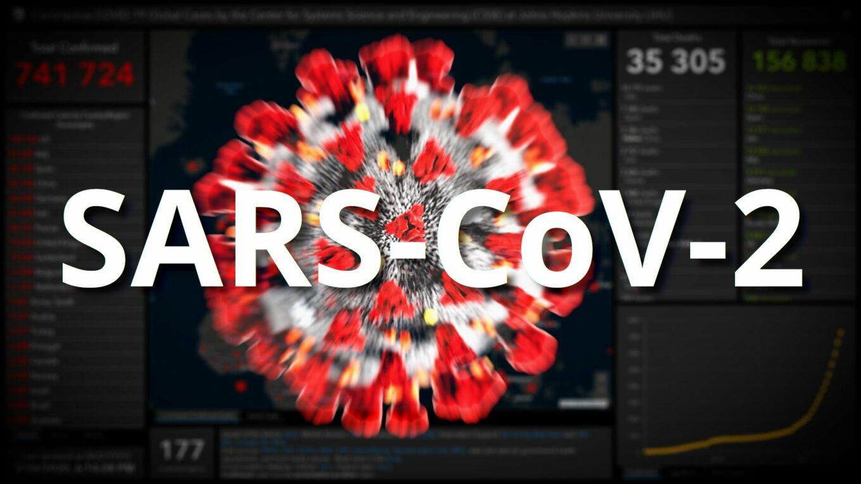 Карты распространение коронавируса SARS-CoV-2
