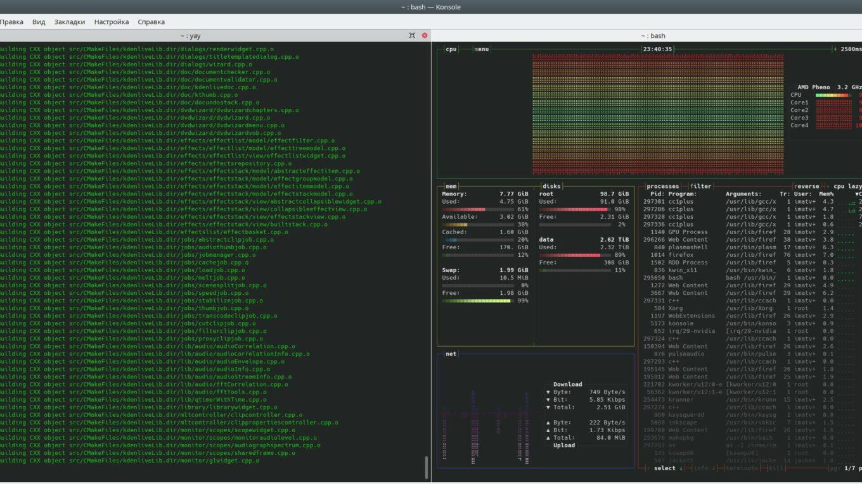Arch Linux AUR package build