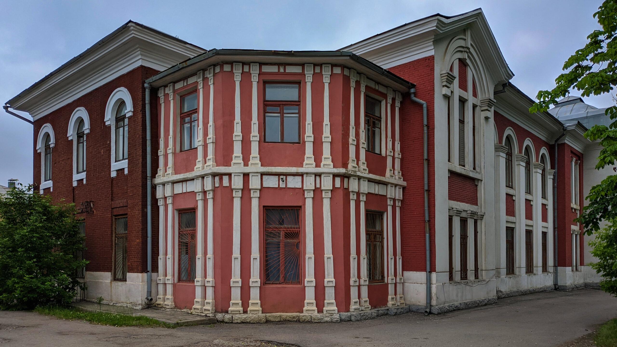 Старая железнодорожная больница или Отделение паллиативной медицинской помощи Хоспис