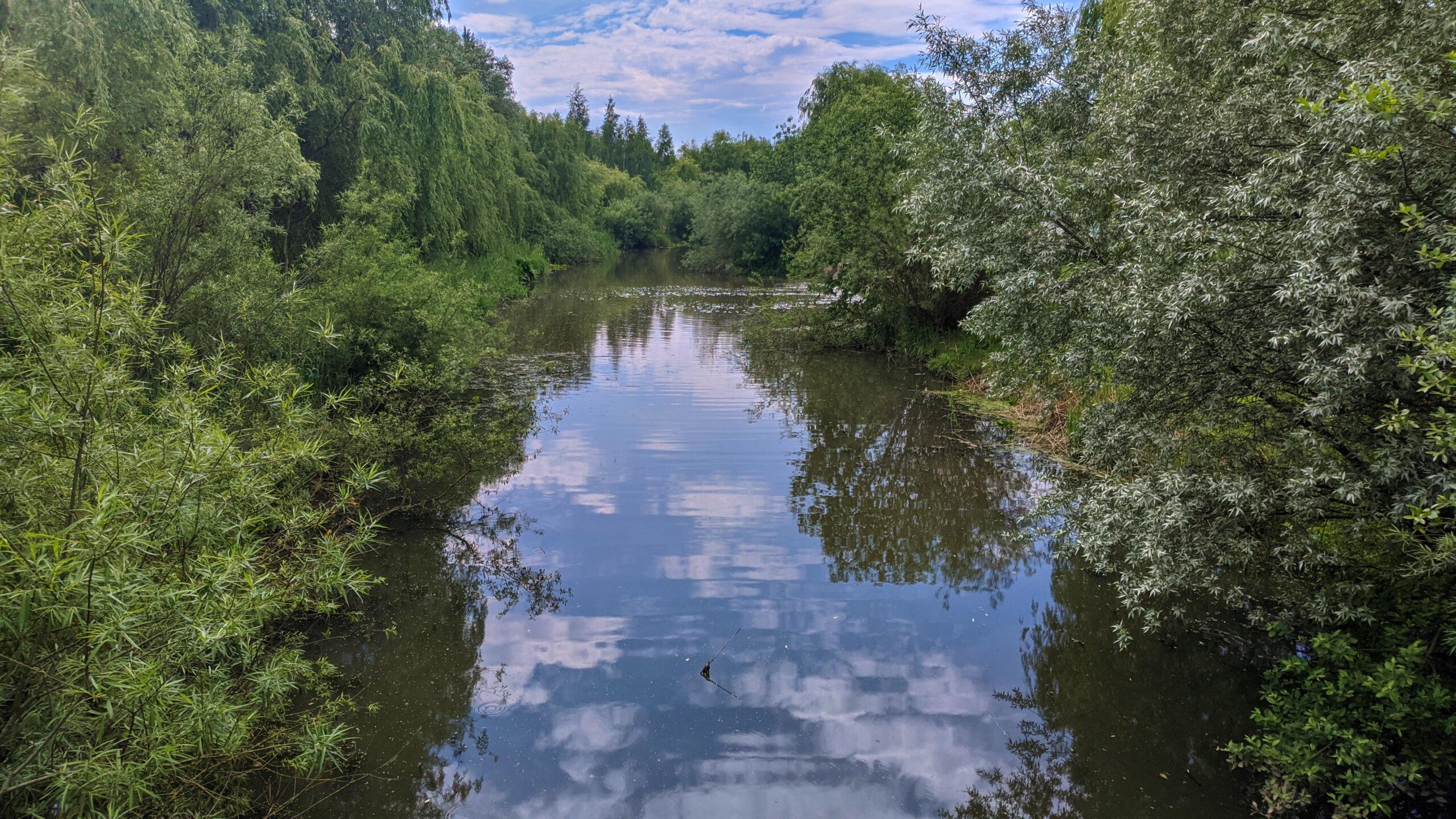 Старая ж/д больница, БПРМ Минск-1 и малоизвестная река Мышка. Очередная велопрогулка в выходной день