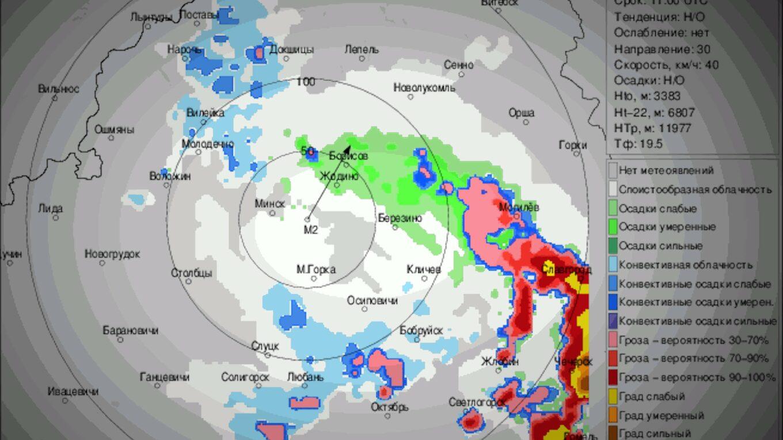 Метеорадар Минск