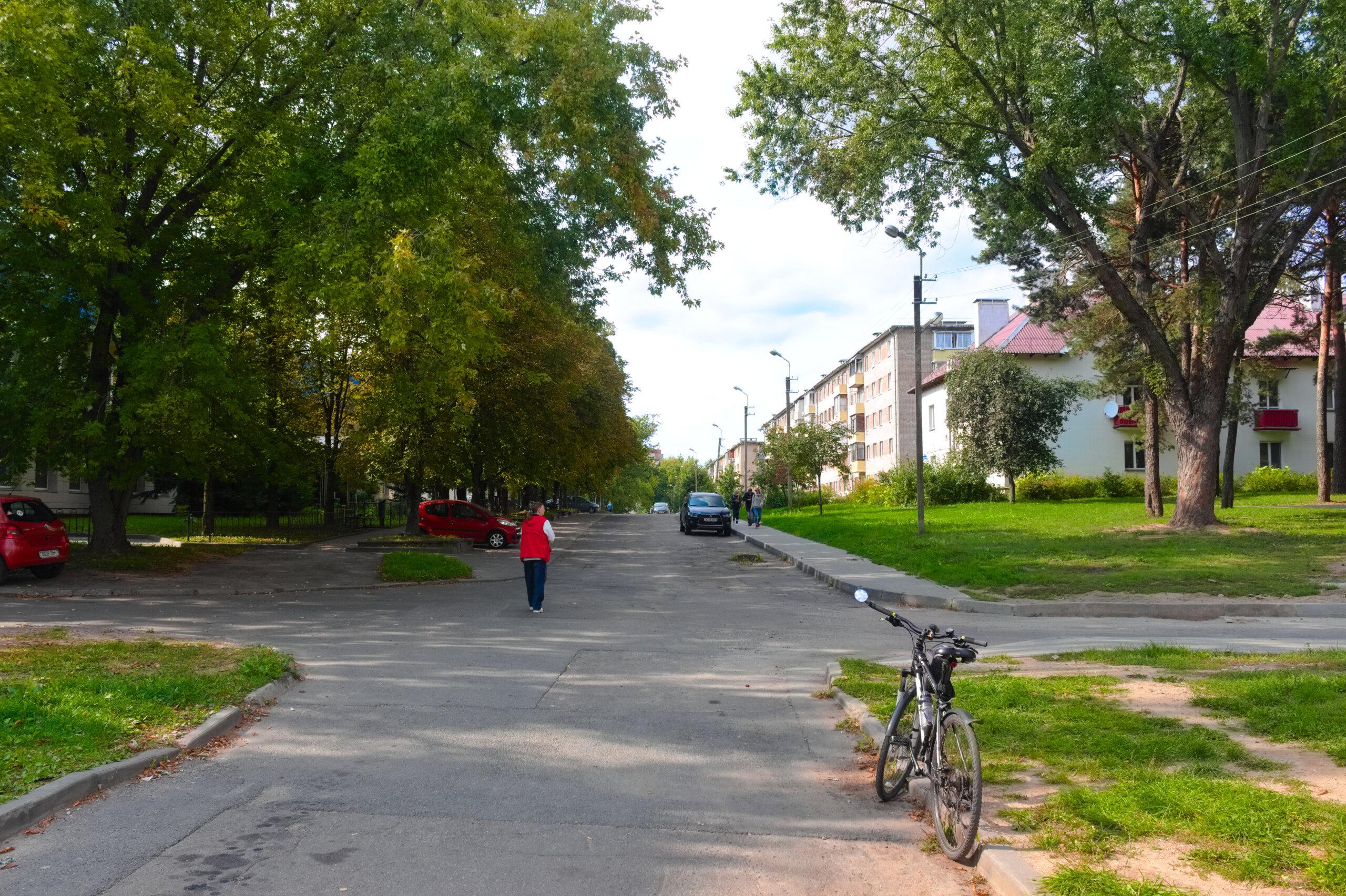 Место, где находились восточные ворота концлагеря Stalag 352