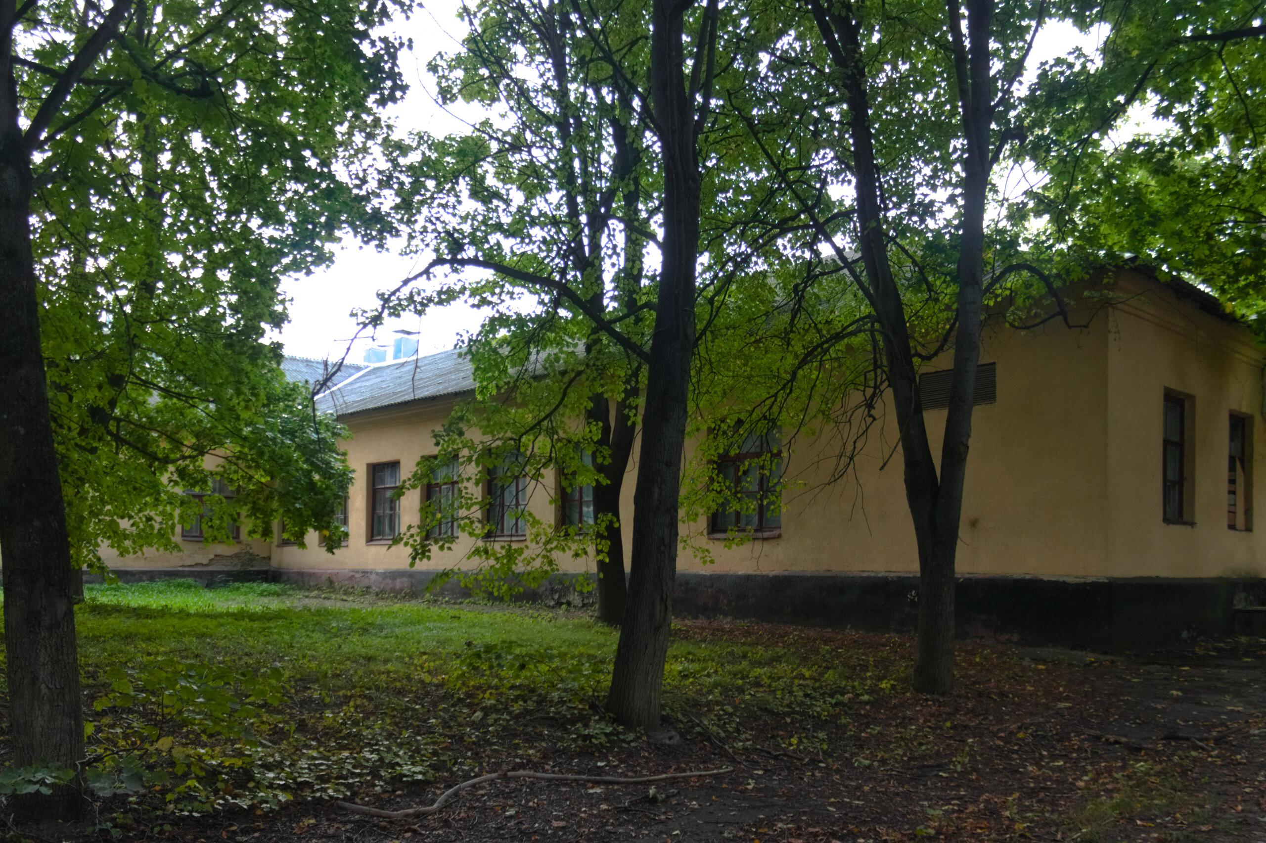 Столовая фашистского концлагеря в Масюковщине Stalag 352