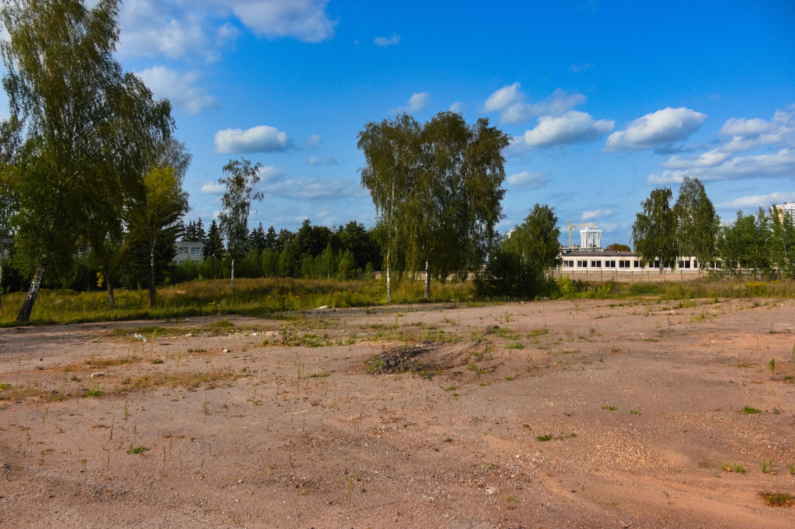 Заброшенный плац дисбата в/ч 61678 в Масюковщине