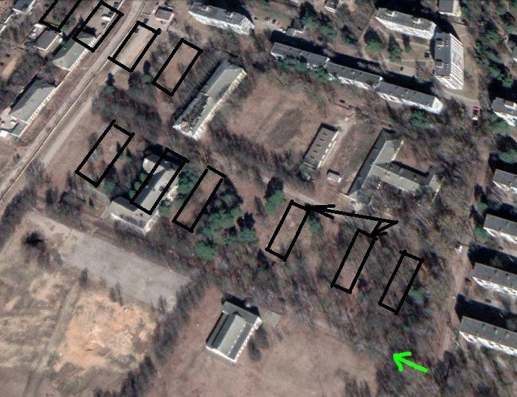 Минский концлагерь Stalag 352. Пробный заезд