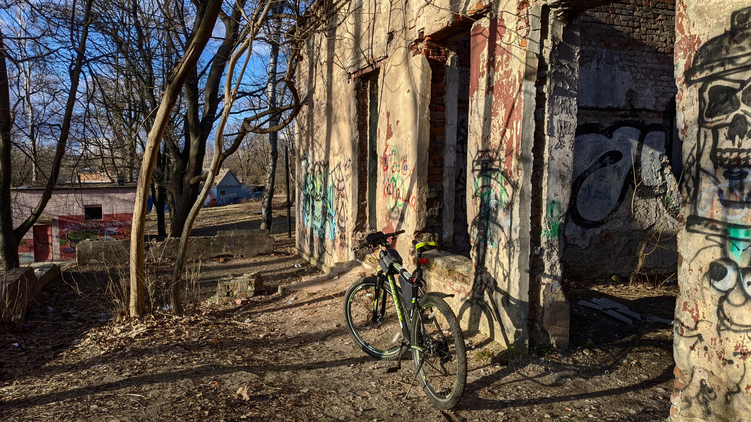 Руины клуба КСИ, апрель 2021 г.