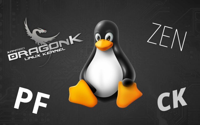 Обзор кастомных ядер Arch Linux